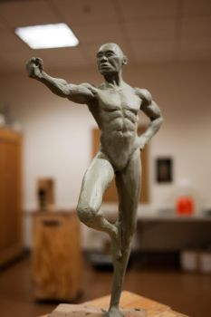 Figurative Sculpt - Standing Male - front by chemb0t