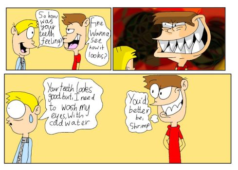 TWOG Comic Strip - Disturbing Smile by WlanProductions