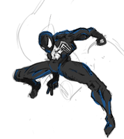Black Spiderman by Armyghy