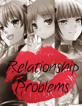 Huniepop: Relationship Problems (Cover Art) by CrystalMoonlightIII