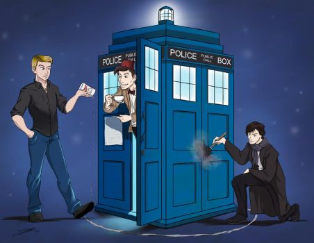 SuperWhoLock by rice-claire