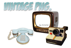 Vintage PNG by MadameCristal