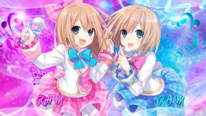 Hyperdimension Neptunia Rom and Ram Wallpaper by Grecia-san