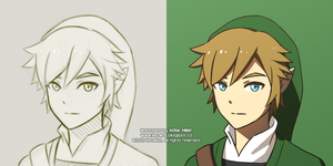 Link: Sketch Vs Coloured by KiiroiKat