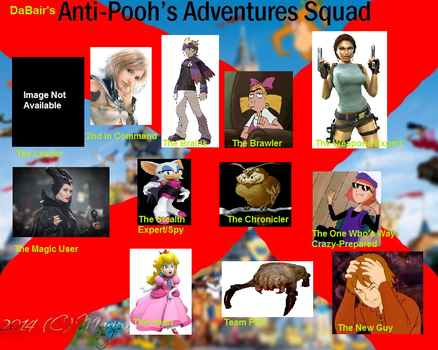DaBair's Anti-Pooh's Adventures Squad! by DaBair