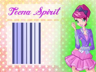 Tecna spirit school patterns by Dessindu43