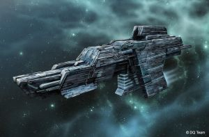 Spaceship 8 by Heliofob