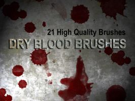 Dry Blood Brushes Mark 2 by Leatherfeet