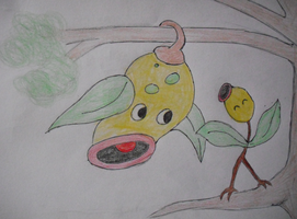 Bellsprout and Weepinbell
