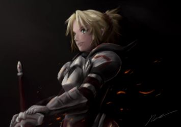 The Knight of Treachery - Fate/Apocrypha by INH99