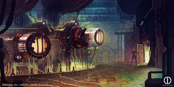 The A.B.Y.S.S. - reactor chamber by Telmand