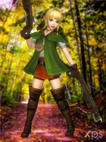 Hyrule Warriors - Linkle \ reup by Bringess