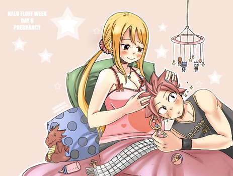 Nalu fluff week by Karola2712