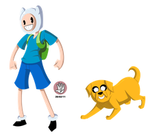 IS ADVENTURE TIME by LuigiRivera