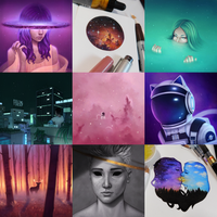 Best Nine 2017 by CosmosKitty