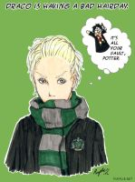 Draco and a Bad Hairday by Purplieh