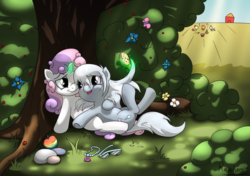 Sweetie and Spoon by Rainihorn