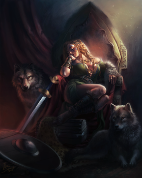 Warden of the North by riikozor