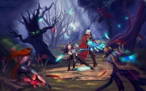 Aion: surrounded by Tashati