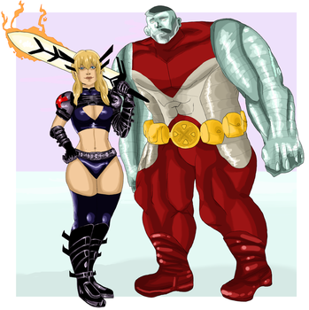 magik and colossus by 7ylercC94