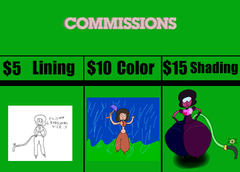 COMMISSIONS: by RobbieTehRotten