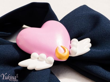 Eternal Sailor Moon Brooch by YukinaCosplay