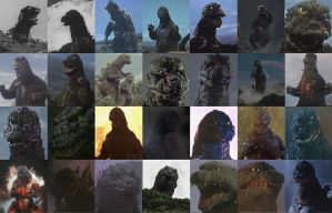 My Thoughts on The Godzilla Suits by Sideswipe217