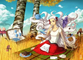 Letters of autumn by kunoichi-san