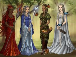 Four Elements to Rule Them All by Lunakinesis