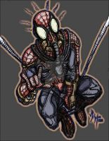 Spiderman Steampunk by jdmacleod