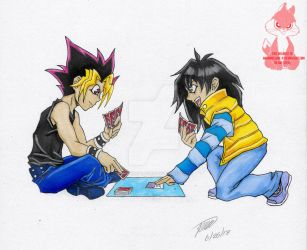 Yugi vs Moki by HannibolLove