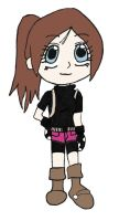 Claire RE2chibi by Mlie-Redfield