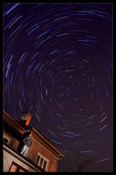 northern star trails by fauteku