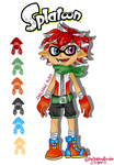 New Splatoon Character Unlocked by SimplyDefault