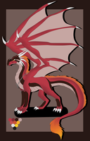 Flaorth Dragon Ref by LuzrovRulay