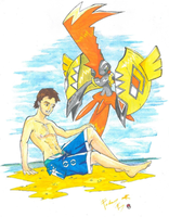 Electric Summer with Tapu Koko!- Version 1 by FabrizioFioretti