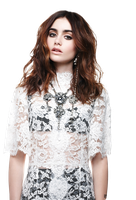 PNG - Lily Collins by Andie-Mikaelson
