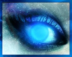 +_W.O.W - Death Knight Eye_+ by Cynn-The-Beautiful