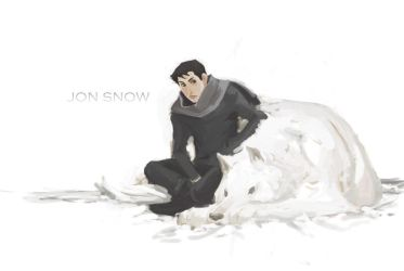 jon snow by missveryvery