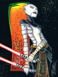 Marker: Asajj Ventress by KidNotorious
