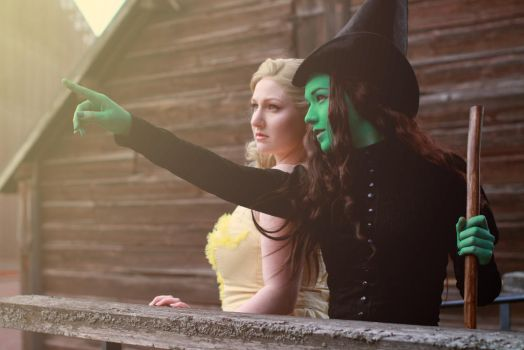 Wicked: Together we're unlimited... by Mae-rye