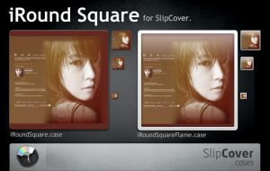 iRound Square for SlipCover by Gpopper