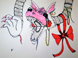MANGLE-Fnaf2 by Psycho-Blood