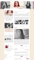 Free G-Portal fansite theme with Emilia Clarke by Efruse