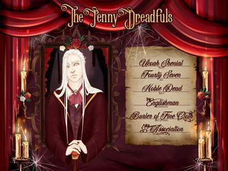 Ukoah Shenials {The Penny Dreadfuls  App} by TheWitchAtsu
