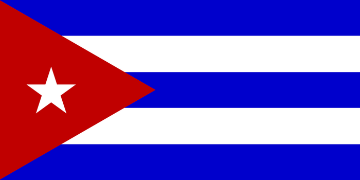 Flag of Cuba by JMK-Prime