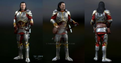Human Kain: Army of the Last Hope Armor by TheHylden