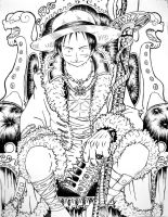 Luffy King of Pirates by TicoDrawing