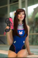 Pool Party D.va by Chastten
