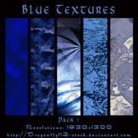Blue Textures Pack 1 by BFstock